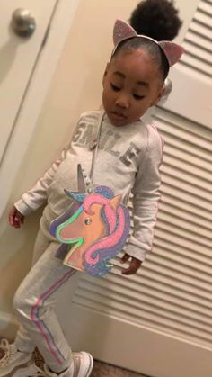 Little Girl Swag, Cute Little Girls Outfits, Kid Outfits, Kids Outfits Girls, Little Girl Fashion, Kids Fashion, Cute Mixed Babies, Cute Black Babies, Cute Funny Babies