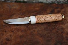 puukko knife by Paweł Michalski