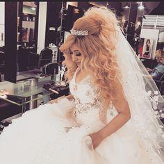 Mouniiiir @mouniiiir Bridal hairstyles...Instagram photo   Websta (Webstagram)