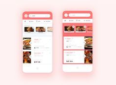 Restaurant list ui weekly challenge big oreview by mario sestak