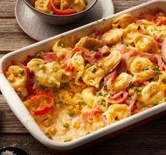Fast tortellini bake – Famous Last Words Cheese Recipes, Shrimp Recipes, Salad Recipes, Keto Recipes, Snack Recipes, Keto Snacks, Cauliflower Salad, Cauliflower Recipes, Macaroni Salad