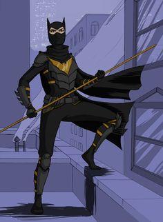 Batgirl Begins Again - Brandon Redenius