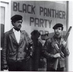 The Black Panther Party for self defense Co-Founders Bobby seale and Huey Newton in Oakland CA 1966