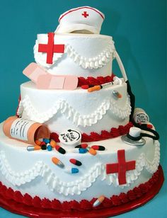 Nurse cake for nurses appreciation week