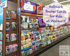 Fun Poster Cards for Kids From Hallmark available at Walmart! #KidsCards #Shop - Momma T and Family