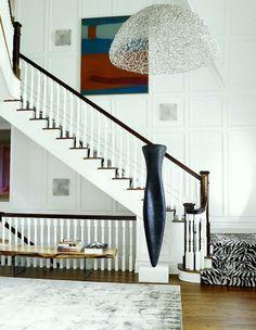Cool sch ne wohnideen treppe flur gestalten holzbank treppengel nder