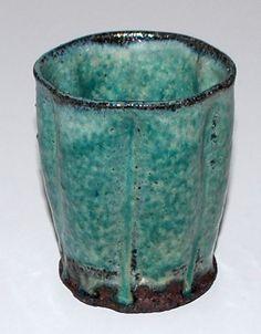 Ulla Hansen, hard fired earthenware, own studio Denmark. H: 9,5. W: 7,5 cm.