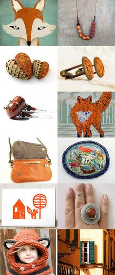 { foxy lady } by Dottie on Etsy--Pinned with TreasuryPin.com