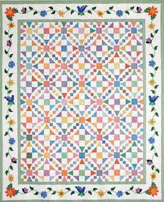 Aunt Gracie's Garden - Free Quilt Patterns