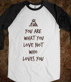 White/Black T-Shirt | Fun Fall Out Boy Music Band Shirts