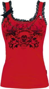 Lace Skull Top