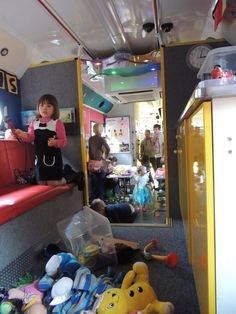 The Playbus makes a visit to Lillie's Birthday Party