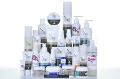 GlyMed is a good line to clean, treat, balance your skin  (can be purchased at la Chic Boutique Spa)