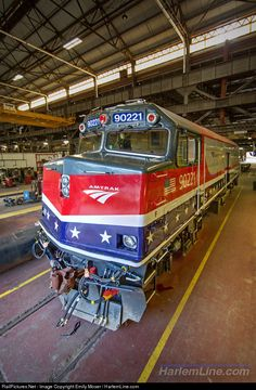 """Now wearing Amtrak's """"Honoring our Veterans"""" scheme, NPCU 90221 gets some…"""