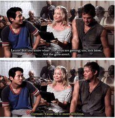 Hahahaha. Norman.