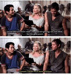 Norman speaks the truth. He just knows all the right things to say at the right time <3