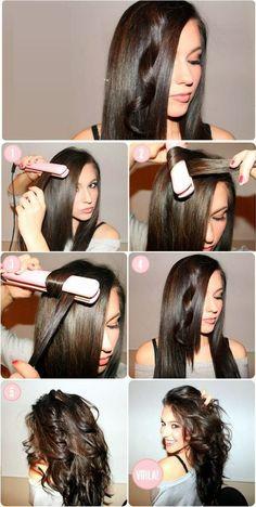 cheveux mi long - Recherche Google