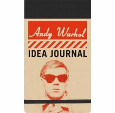 Idea Journal Andy Warhol - Bobangles #Galison #AndyWarhol #art #stationery #journal