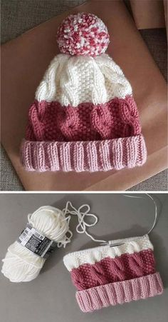 Amazing Knitting provides a directory of free knitting patterns, tips, and tricks for knitters. Baby Boy Knitting Patterns, Beginner Knitting Patterns, Baby Cardigan Knitting Pattern, Baby Hats Knitting, Beanie Pattern, Sweater Knitting Patterns, Hat Patterns, Free Knitting, Knitted Hats Kids