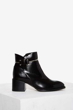 Jeffrey Campbell Dignam Box Leather Boot - Shoes   Boots + Booties   Rules To Slip By   Jeffrey Campbell