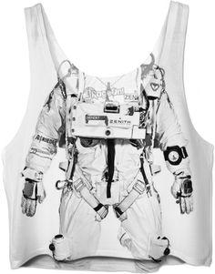 $34.99 Astronaut Crop Top