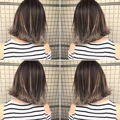 いいね!565件、コメント1件 ― イズミ タカヒロさん(@izumi_takahiro.jp)のInstagramアカウント: 「・ 夏のオーダーNo.1カラー ・ 外国人風バレイヤージュカラー ・ 根元は7トーンのアッシュカラーに毛先はフリーハンドでブリーチしてグラデーションをつくっています…」