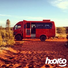 The 4am @ayersrockresort Desert Awakenings tour has the best looking adventure bus #Uluru #@Michelle Legge #teamhooroo