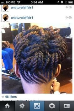 Gotta love protective styles for natural hair! by jessie