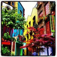 Photo taken at Neal's Yard by Lorenzo C. on 5/14/2012