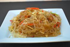 Pancit Bihon (meatless and gluten free)