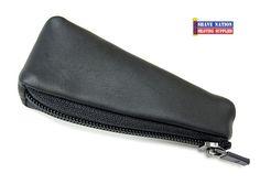 WaterField Water Field Leather Razor Zip Case Black