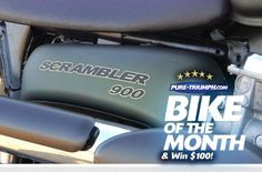Vincent's very cool Scrambler 900... and the November 2011 Bike of the Month!  http://on.fb.me/HCY6wo