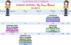 Agenda de aulas março 2016 pag1