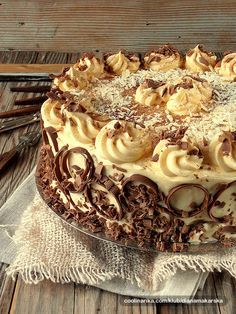 Torta od oraha i vanilije — Coolinarika