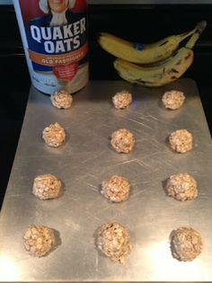 Banana Oat Cookies, just made for my 6 month old he loves them