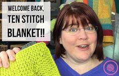 Loom Knit Ten Stitch Blanket | NEW & Improved! - GoodKnit Kisses