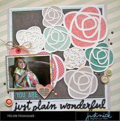 Just+Plain+Wonderful - Scrapbook.com