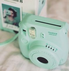 Instax camera - This is the exact one I got for my bday. With lots of film and a white holder ❤️my babe