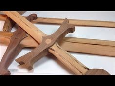 I saw a video about wooden swords and decided, I needed to make some of my own. (Cherry, Black Walnut and Oak.) Website: http://www.artismia.com Twitter: htt...
