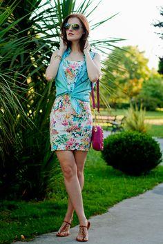 DENIM SLEEVELESS SHIRT AND   Women's Look   ASOS Fashion Finder