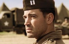 Ron Livingston as Lewis Nixon in Band of Brothers. Band Of Brothers, Lewis Nixon, Ron Livingston, 101st Airborne Division, Guys Be Like, Music Tv, Man Crush, Pretty People, Actors & Actresses