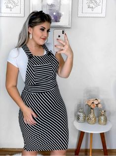Plus size outfits Skirt Outfits, Chic Outfits, Dress Skirt, Cute Dresses, Beautiful Dresses, Casual Dresses, Curvy Women Fashion, Look Fashion, Short Frocks