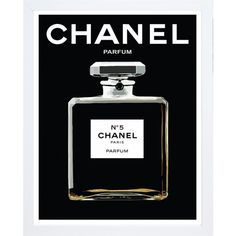 Chanel Black Print with Frame ($240) ❤ liked on Polyvore featuring home, home decor, wall art, art, backgrounds, filler, chanel, home wall decor, black home decor and black and white wall art