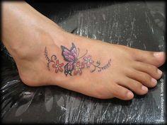 Creative Butterfly Tattoos | Girl Tattoos