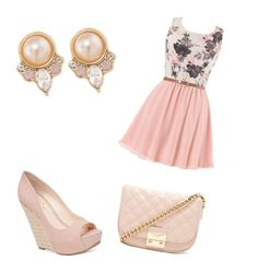 """fantasick"" by kristinakotenko on Polyvore featuring Carolee, Jessica Simpson and Forever 21"