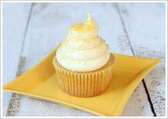 Honey Cupcake with Honey Cream Cheese Frosting