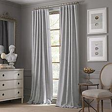 image of Valeron Estate Cotton Linen Window Curtain Panel