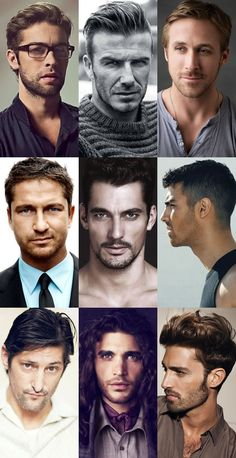 Men's Stubble Lookbook