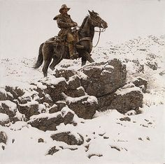 James Bama - RIDING THE HIGH COUNTRY