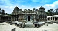 Somanathapura, 35 km from Mysore is one of the most intricate stone carving temples you will see around Mysore. Built by the Hoysalas in the 13th Century, this is a must visit when you are in Mysore.